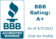 BBB A+ Wedge Roofing