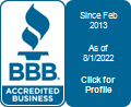 Lady B Electric is a BBB Accredited Electrian in Santa Rosa, CA